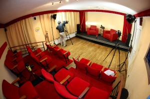 Cinema studio set up 1